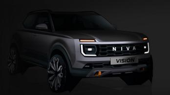 Gyári vázlaton az új Lada Niva