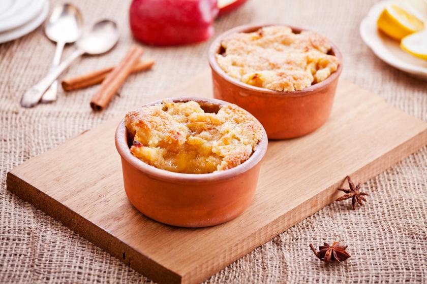 Körtés-almás cobbler: fahéjjal és gyömbérrel még finomabb