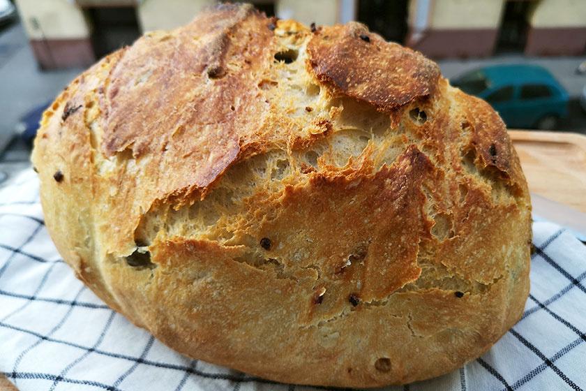 olívás-kenyér recept