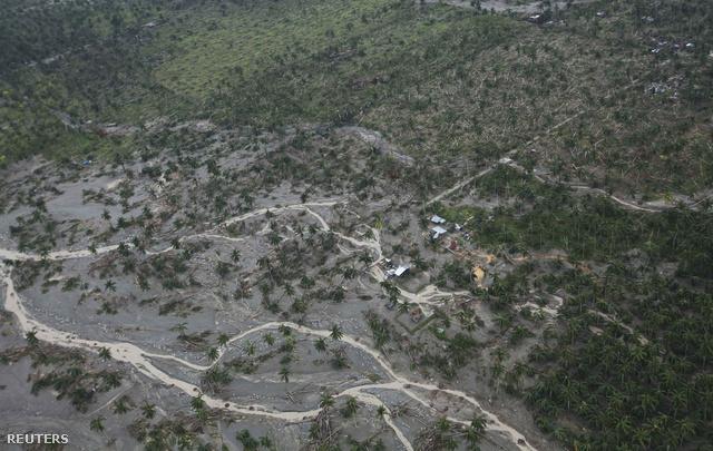 Medréből kilépett folyó a Compostella völgyben