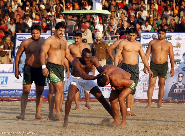 Pakisztán Sierra Leone ellen a 3. kabaddi-VB-n