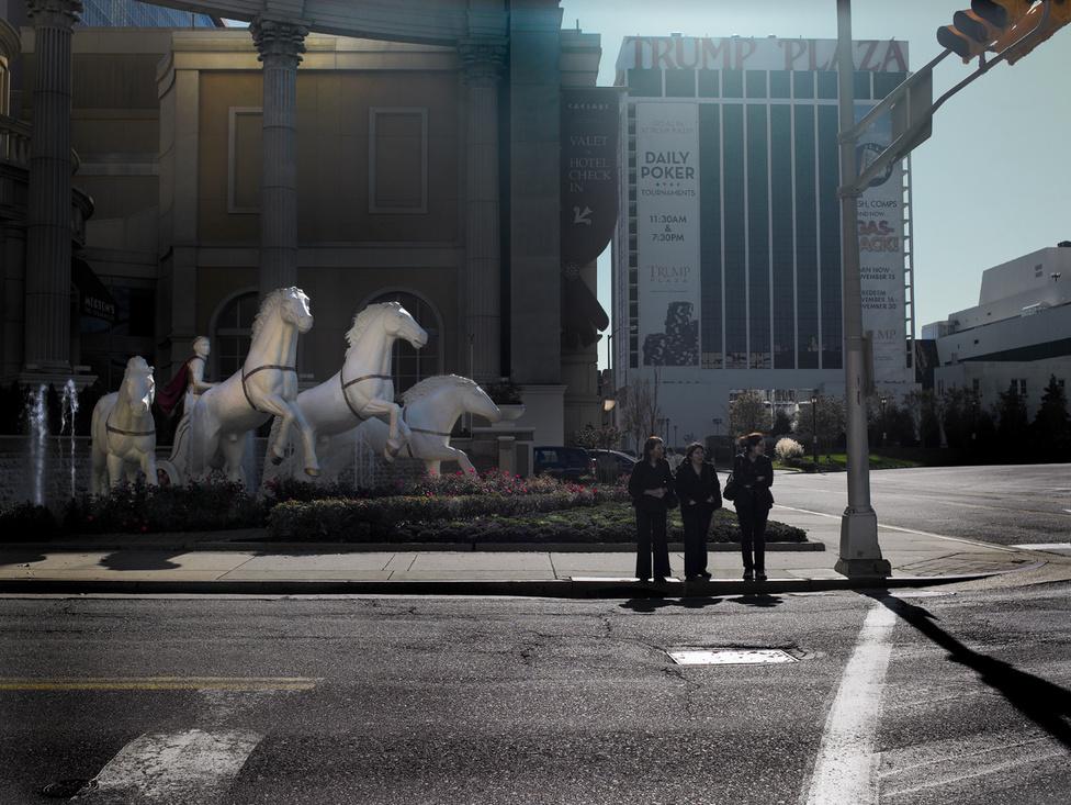 Atlantic City - Trumps'horses