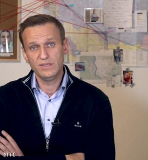 Alekszej Navalnij orosz ellenzéki politikus Instagram-oldalán közzétett videóról rögzített kép Navalnijról 2020. december 21-én