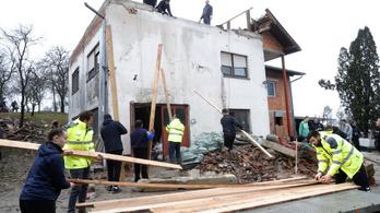 Horvátországi földrengések: az állam állja a magánházak felújítását