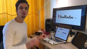 Nem tudott min gyakorolni, programozott egy appot a magyar zenész