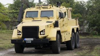 Hipermodern katonai terepjárműveket fejlesztenek Magyarországon
