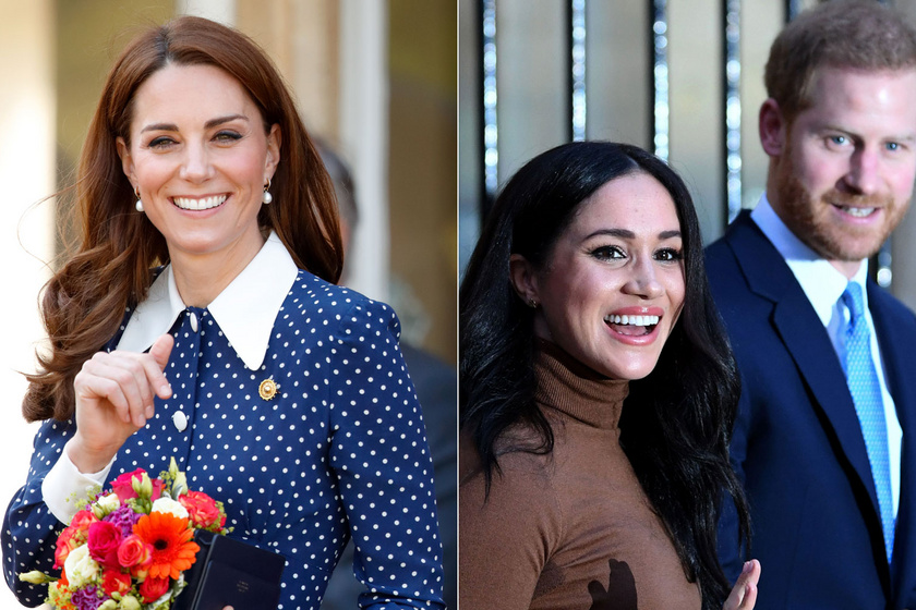 Erre még Katalin sem számított: Harry és Meghan így lepte meg a szülinapos hercegnét