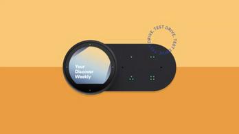 Autós kiegészítőt próbálgat a Spotify