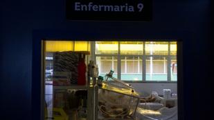 Brazíliában annyi a beteg, hogy már nincs elég oxigén a lélegeztetőgépekhez