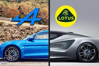 A Lotus szövetkezik az Alpine-nal