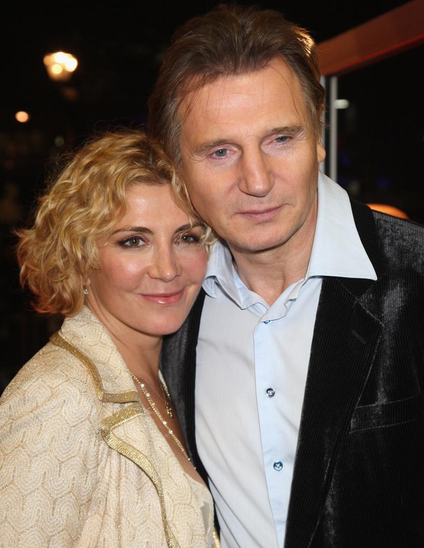 Liam Neeson és Natasha Richardson nagyon szép párt alkottak.