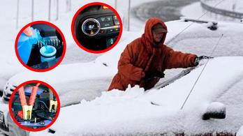 Autózás a hidegben? Így csináld!