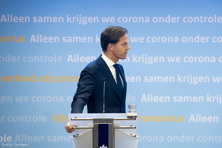 Mark Rutte, lemondott holland miniszterelnök