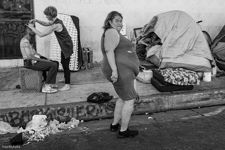 A Skid Row névre hallgató környék Los Angeles leglepusztultabb, legszegényebb városrésze