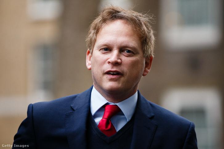 Grant Shapps brit közlekedésügyi miniszter.