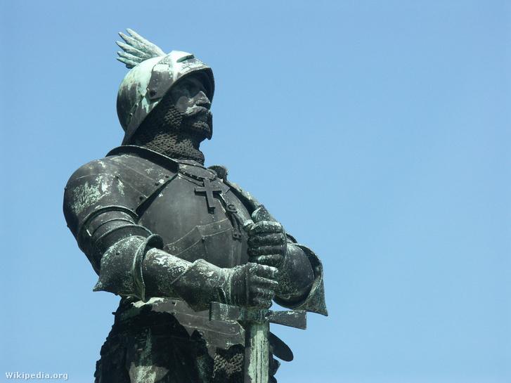 Hunyadi János szobra Budapesten