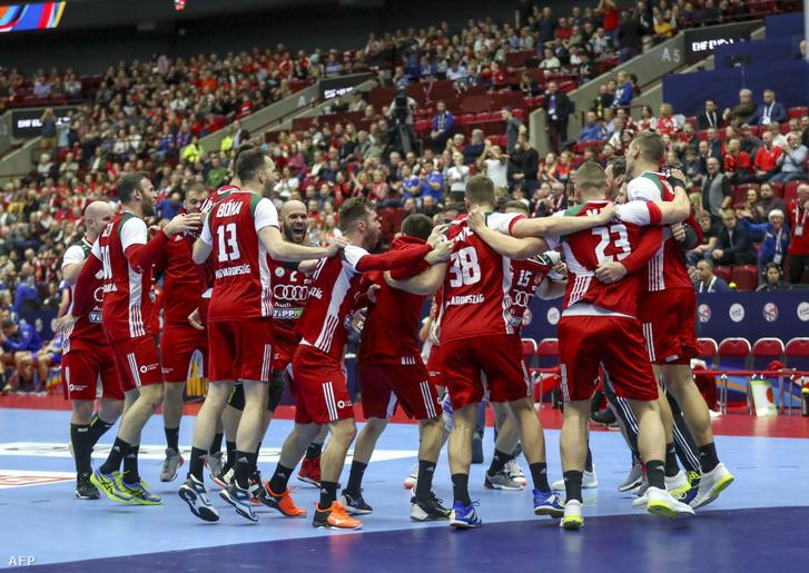 Remélhetőleg a 2022-es Európa-bajnokságon is lesz oka az örömre a magyar férfi kézilabda-válogatottnak