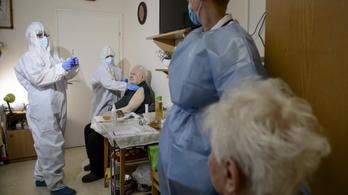 Hétvégén több mint háromezren kapnak oltást az idősotthonokban