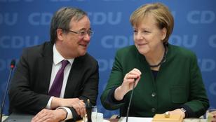 Armin Laschet lett Angela Merkel utódja