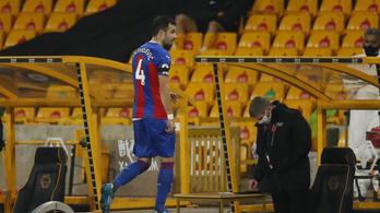 Összeverekedtek a Crystal Palace játékosai az Arsenal elleni meccs előtt