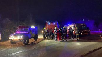 Sérült túrázót mentettek a Pilisben