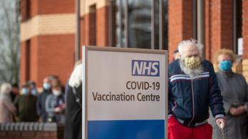 Több mint négymillió vakcinát adtak be a briteknél