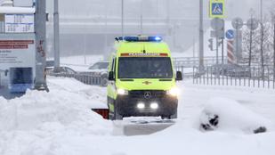 Nyár óta először csökkent Oroszországban az aktív fertőzöttek száma