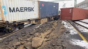 Kisiklott egy tehervonat Murakeresztúron
