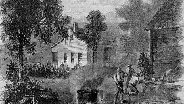 Barbecue történelem