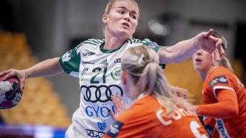 A címvédő Győr döntetlent játszott a dán Odense otthonában