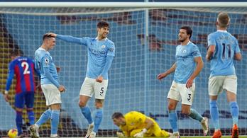 Könnyedén nyert a Manchester City