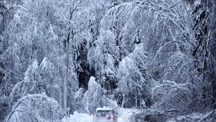 Jégtömbbé vált reggelre az ország, éjjel mínusz 20 fok alatt is mértek