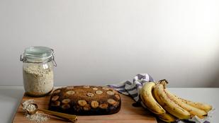 Sült banános zabkásával percek alatt készíthetsz egészséges reggelit