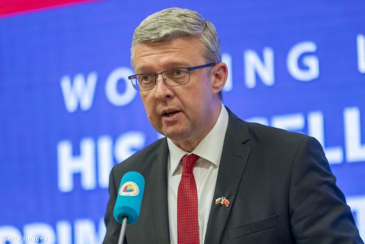 Karel Havlicek cseh ipari és kereskedelmi miniszter.
