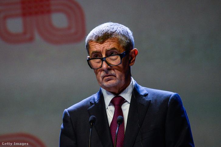 Andrej Babis cseh kormányfő.