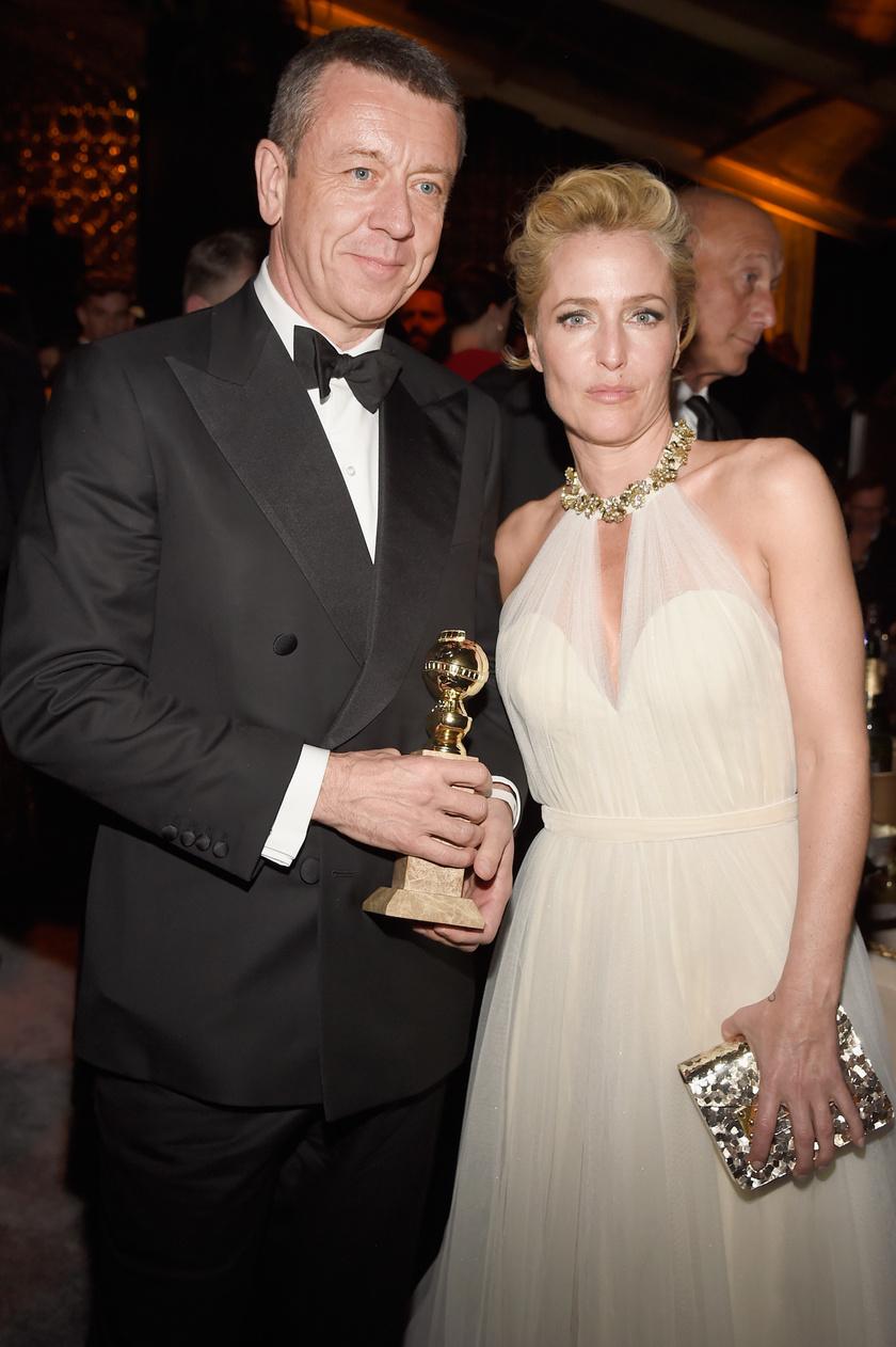Gillian Anderson és Peter Morgan négy év után szakítottak.
