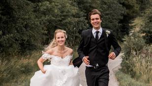 Ez a svéd férfi 2020 minden egyes napján futott, az esküvője napja sem volt kivétel