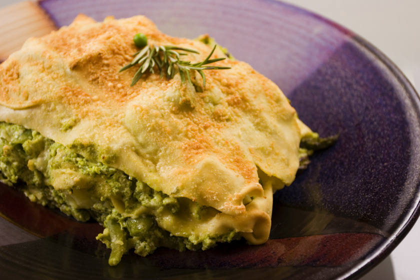 brokkoli lasagne recept