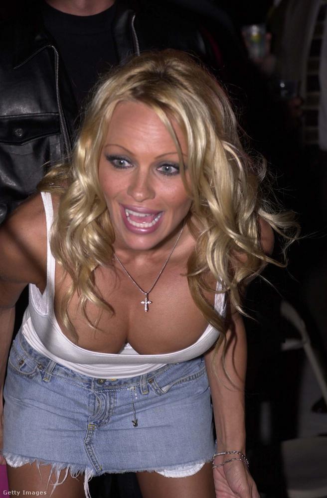 Pamela Anderson abban az évben a Bahamákra repült, hogy részt vegyen egy celebes-golfos eseményen