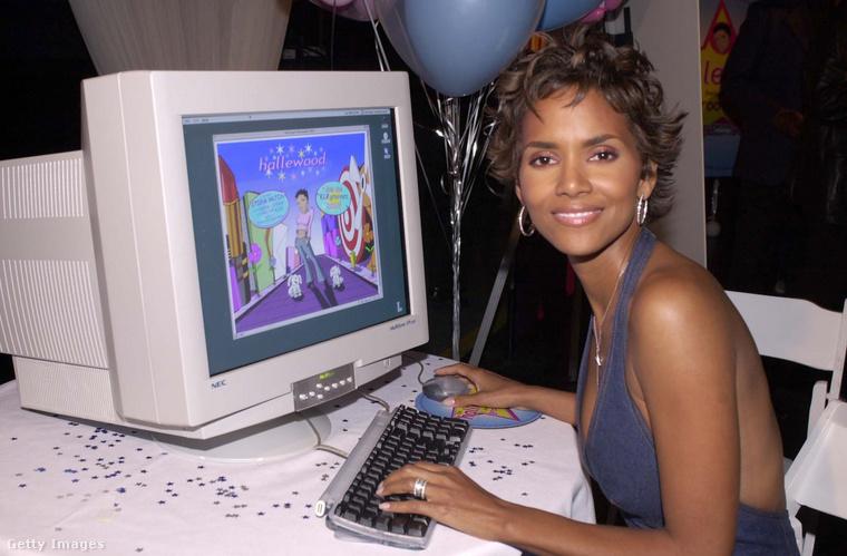 Ugorjunk: Halle Berry ekkortájt éppen annak örült, hogy elindult a saját honlapja, a Hallewood