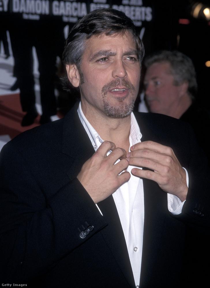 George Clooney akkoriban nem számított Magyarországon politikai tényezőnek