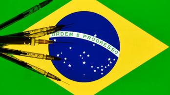 Brazíliában hétfőn kezdődik a tömeges oltás