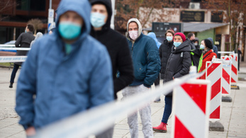 Szlovéniában és Horvátországban is csökkent a fertőzöttek száma