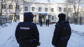 Ukrajna elítélte Alekszej Navalnij őrizetbe vételét