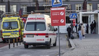 Soha ennyien nem haltak meg a koronavírus-fertőzés miatt Portugáliában