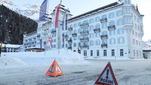 Vesztegzár alá helyeztek két hotelt a fertőzőbb vírusmutációk miatt egy svájci síparadicsomban