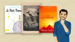 Tudod, milyen nyelven jelentek meg először ezek a híres regények? Kvíz!