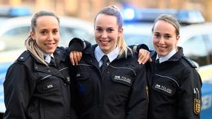Nők, 24 évesek, rendőrök, hármasikrek