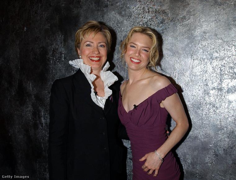 Hogy Hillary Clinton (akkor éppen szenátor volt) és Renée Zellweger miről beszélgettek ugyanott, sosem fog kiderülni