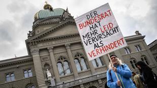 Népszavazást tartanak Svájcban a koronavírus miatt elrendelt korlátozások enyhítéséről